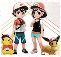 Tenue Relax Pokémon Let's Go Pikachu et Let's Go Évoli