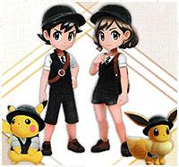 Tenue Sobre Pokémon Let's Go Pikachu et Let's Go Évoli