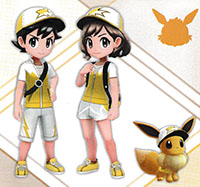 Tenue Voltali Pokémon Let's Go Pikachu et Let's Go Évoli