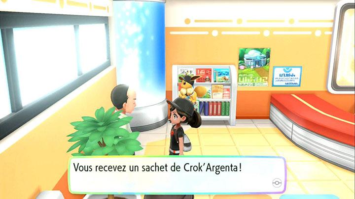 Crok'Argenta - Événement quotidien sur Pokémon Let's Go Pikachu et Let's Go Évoli