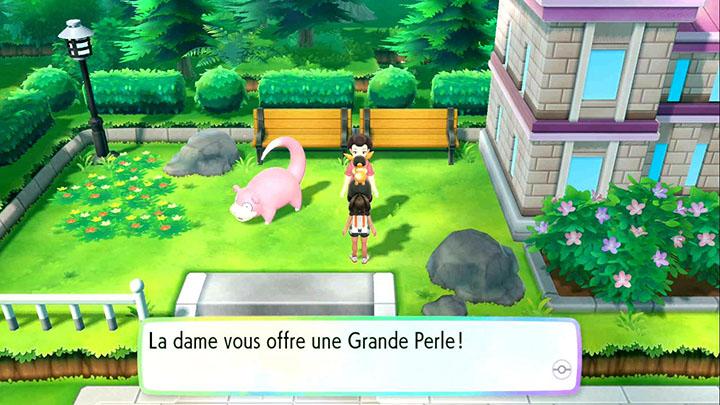 Grande Perle - Événement quotidien sur Pokémon Let's Go Pikachu et Let's Go Évoli