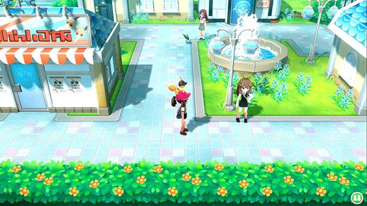 Combat contre Green sur Pokémon Let's Go Pikachu et Let's Go Évoli
