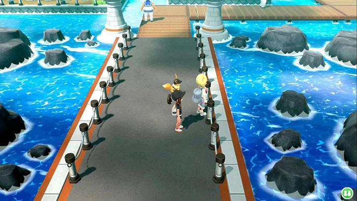 Oléa - Événement quotidien sur Pokémon Let's Go Pikachu et Let's Go Évoli