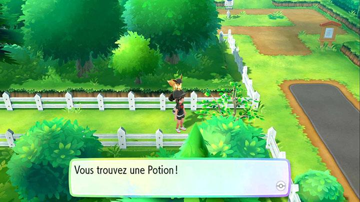 Potion à Jadielle - Pokémon Let's Go Pikachu et Évoli