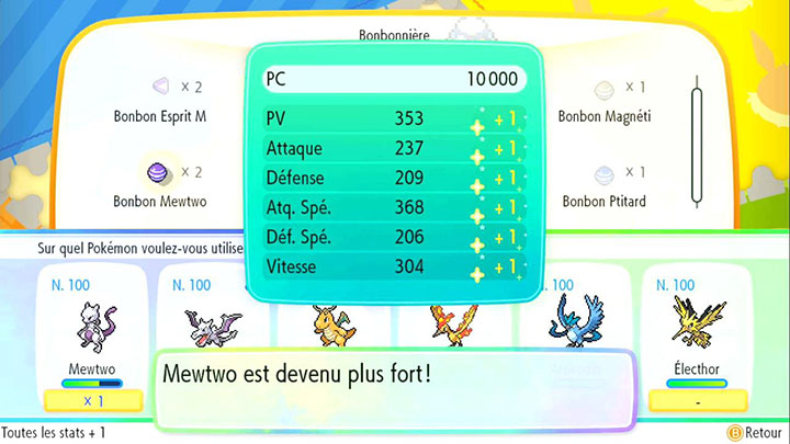 Les Awakening Values Pokémon Let's Go Pikachu et Let's Go Évoli