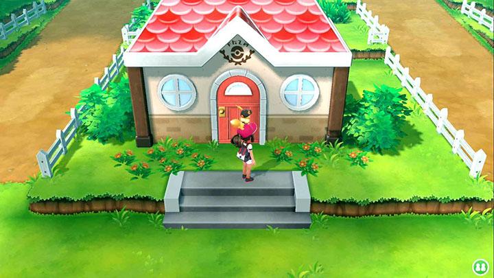La pension Pokémon sur Pokémon Let's Go Pikachu et Let's Go Évoli