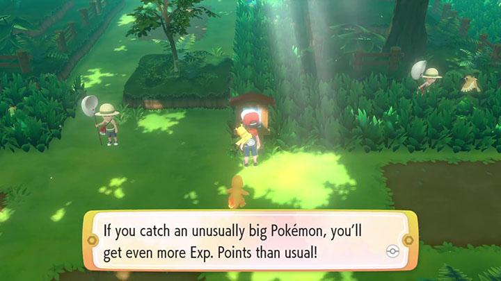L'expérience sur Pokémon Let's Go Pikachu et Évoli