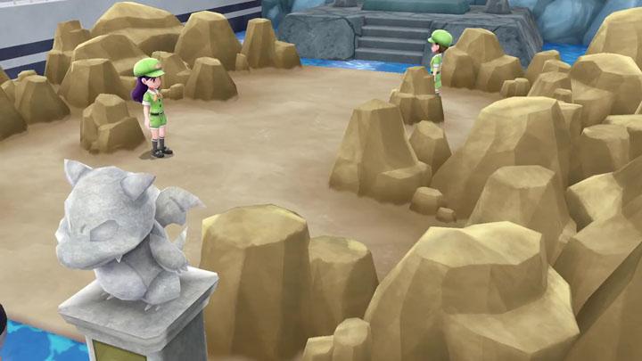 Arène d'Argent sur Let's Go Pikachu et Évoli