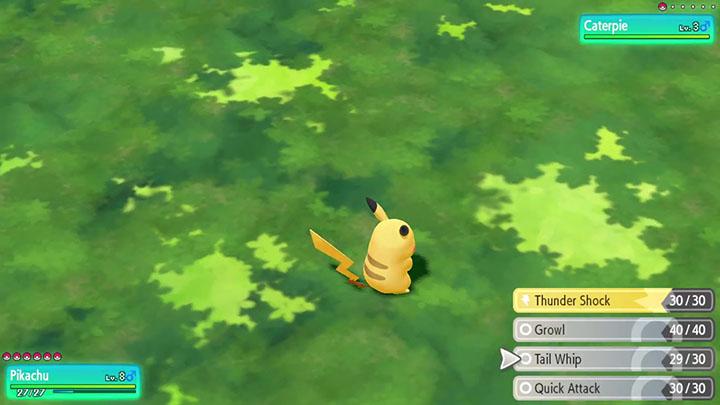 Starter Pikachu Pokémon Let's Go Pikachu et Évoli