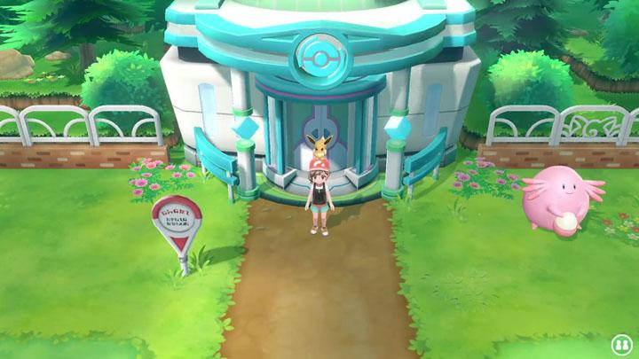 Go Park sur Pokémon Let's Go Pikachu et Évoli