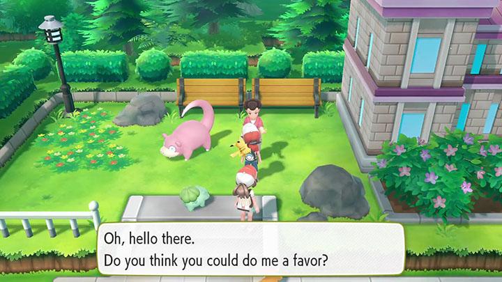 Mini-quête sur Pokémon Let's Go Pikachu et Évoli