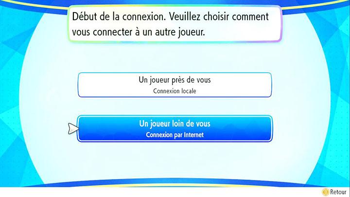 Échanges en ligne sur Pokémon Let's Go Pikachu et Let's Go Évoli
