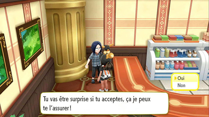 Échange interne au Plateau Indigo - Noadkoko d'Alola - Pokémon Let's Go Pikachu et Pokémon Let's Go Évoli