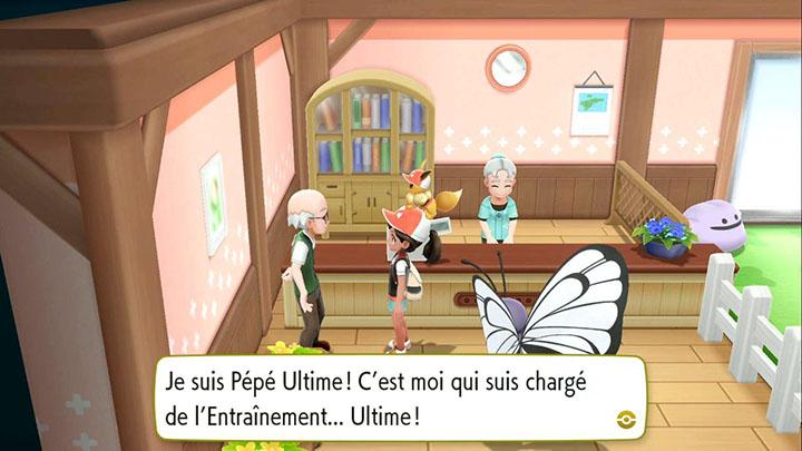 L'Entraînement Ultime Pokémon Let's Go Pikachu et Évoli