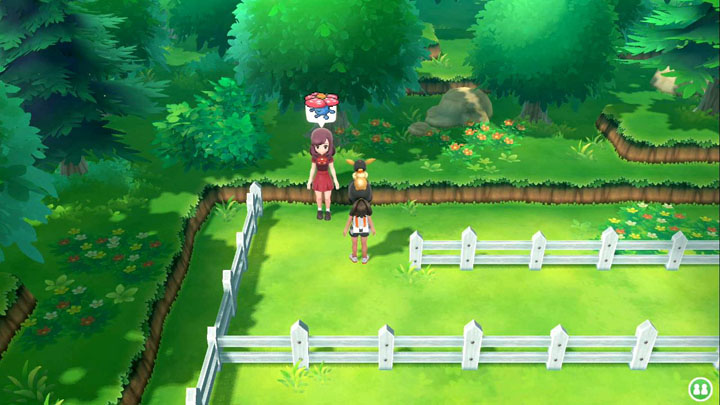 Expert Rafflesia Pokémon Let's Go Pikachu et Let's Go Évoli