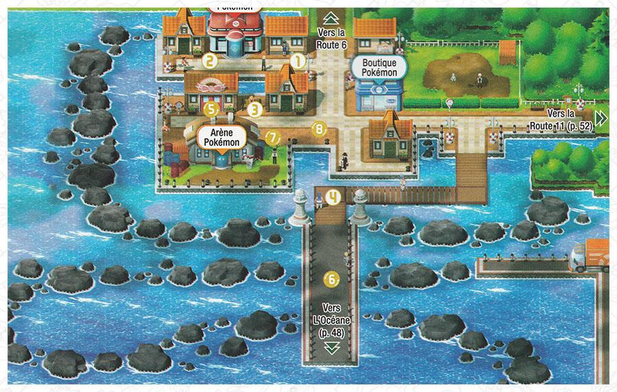 Carmin sur Mer Pokémon Let's Go Pikachu et Let's Go Évoli