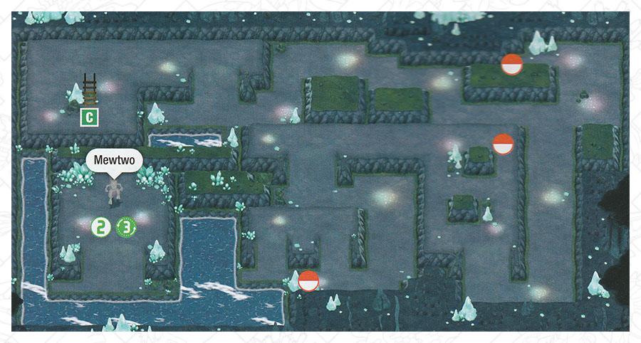 Caverne Azurée Pokémon Let's Go Pikachu et Let's Go Évoli