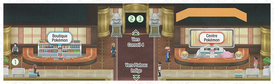 Plateau Indigo Pokémon Let's Go Pikachu et Let's Go Évoli