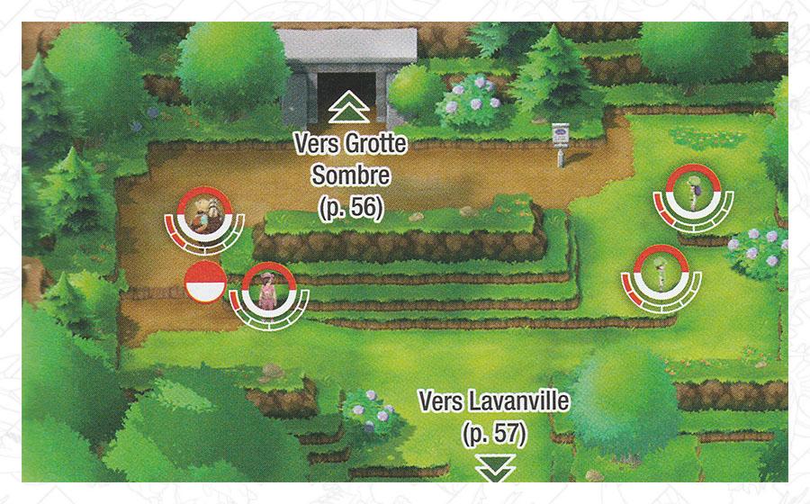 Route 10 Pokémon Let's Go Pikachu et Let's Go Évoli