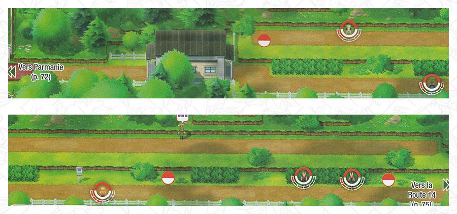 Route 15 Pokémon Let's Go Pikachu et Let's Go Évoli