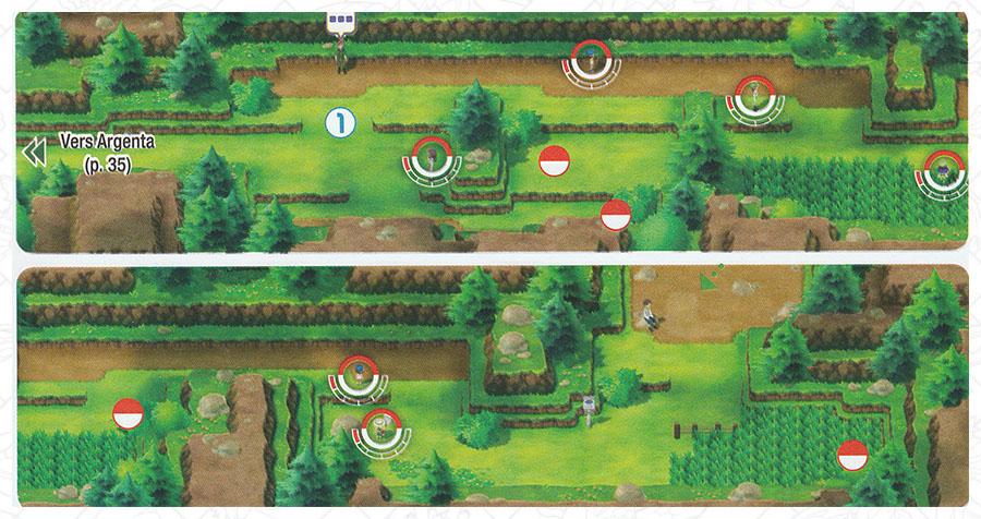 Route 3 Pokémon Let's Go Pikachu et Let's Go Évoli