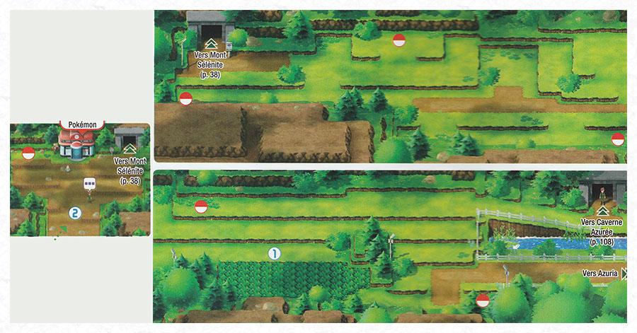 Route 4 Pokémon Let's Go Pikachu et Let's Go Évoli