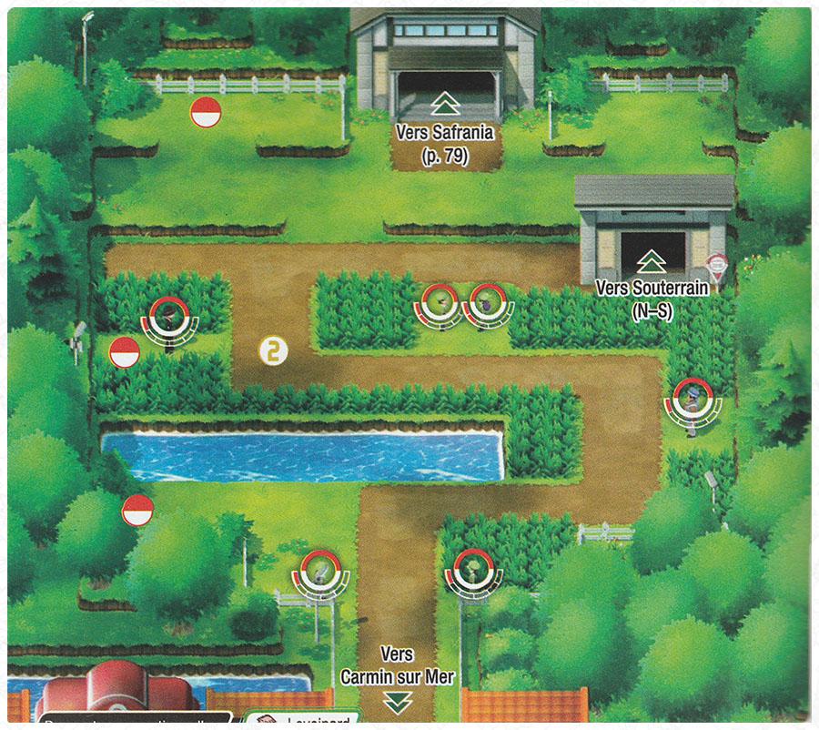 Route 6 Pokémon Let's Go Pikachu et Let's Go Évoli