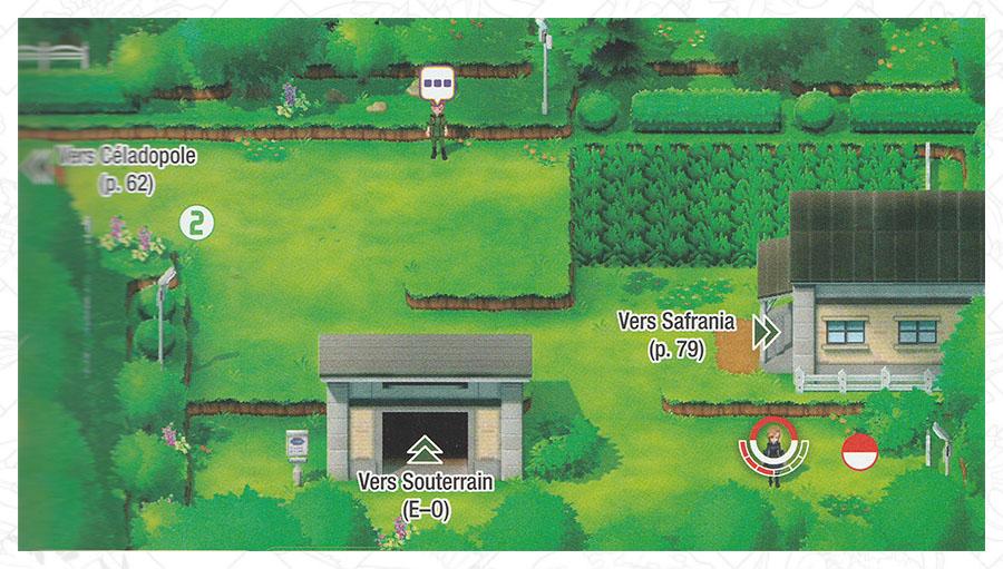 Route 7 Pokémon Let's Go Pikachu et Let's Go Évoli
