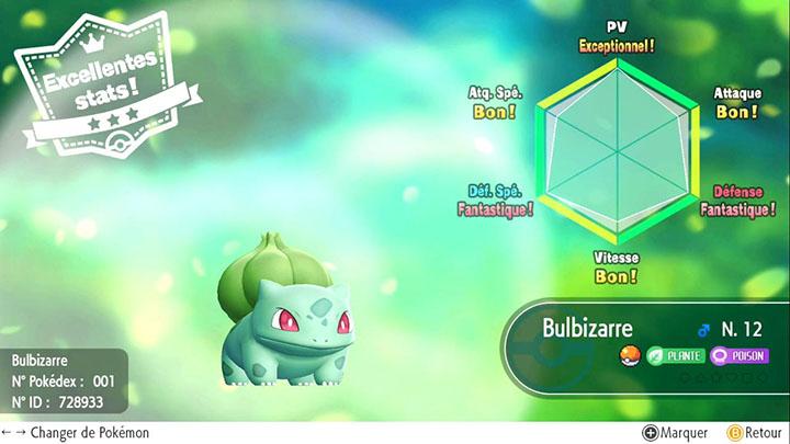 Fonction Juge IV Pokémon Let's Go Pikachu et Let's Go Évoli