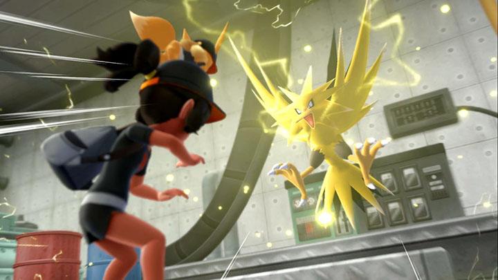 Capturer Électhor sur Pokémon Let's Go Pikachu et Let's Go Évoli