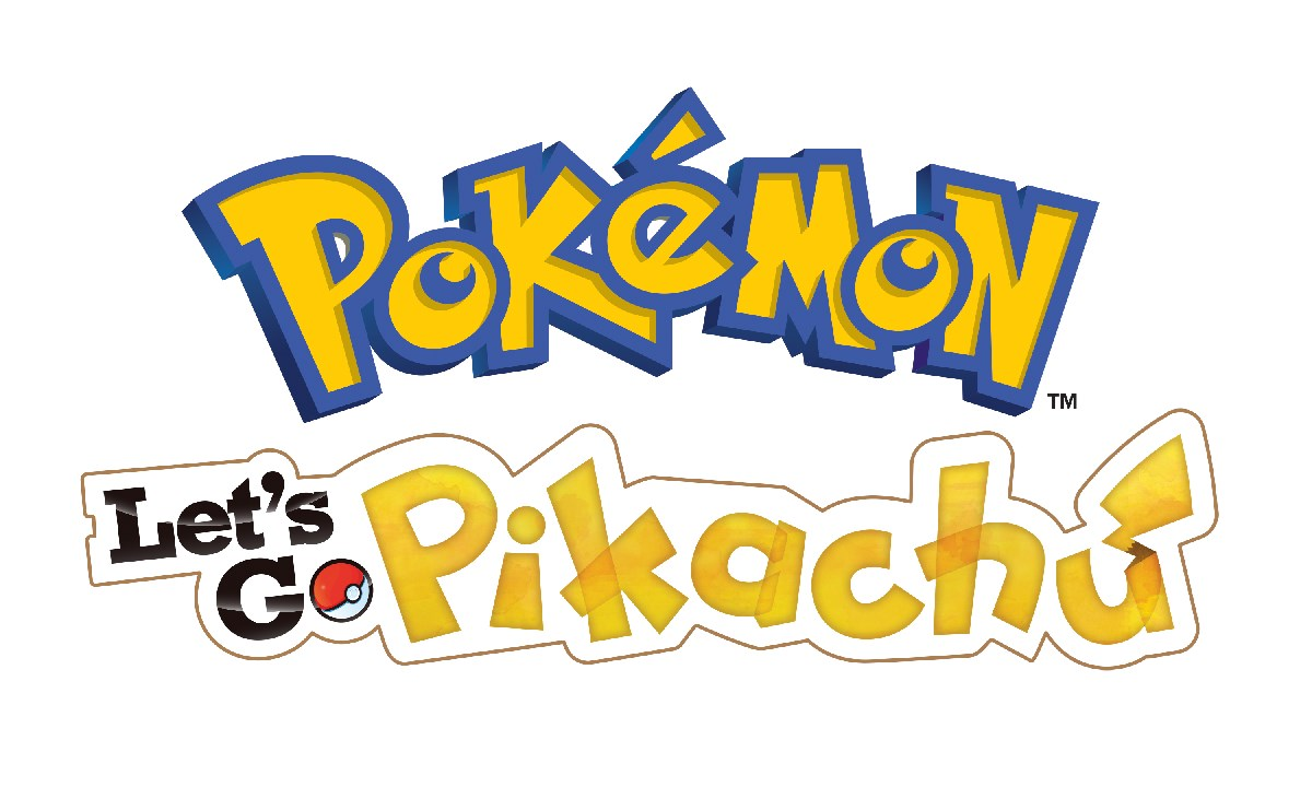 Logos des jeux Pokémon Let's Go Pikachu et Pokémon Let's Go Évoli