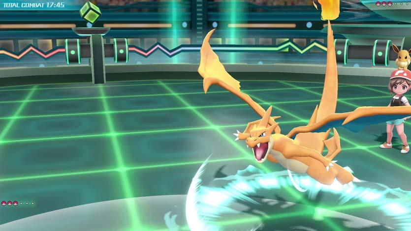 Méga-Évolution Pokémon Let's Go Pikachu et Évoli