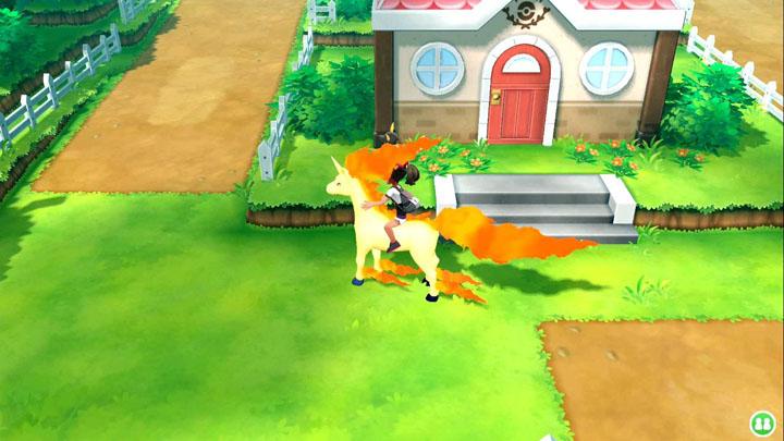 Monture Galopa Pokémon Let's Go Pikachu et Évoli