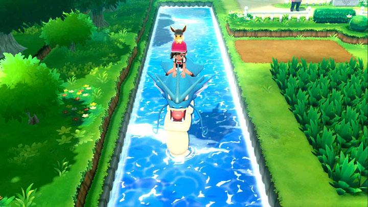 Monture Léviator Pokémon Let's Go Pikachu et Évoli