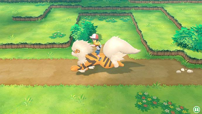 Monture Arcanin Pokémon Let's Go Pikachu et Évoli