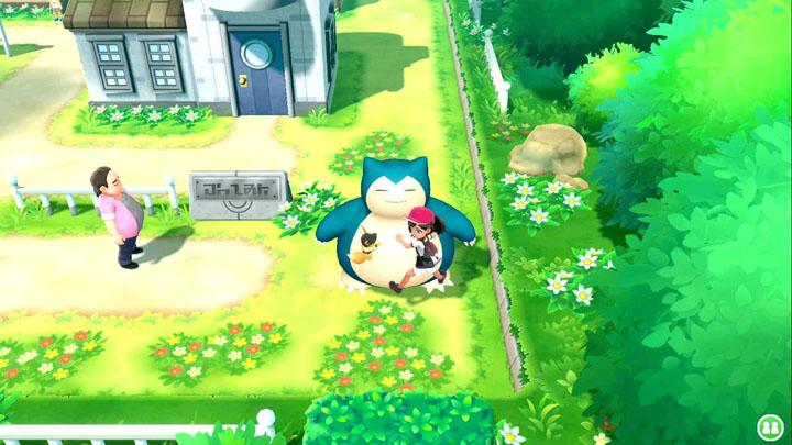 Monture Ronflex Pokémon Let's Go Pikachu et Évoli