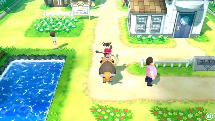 Monture Tauros Pokémon Let's Go Pikachu et Évoli