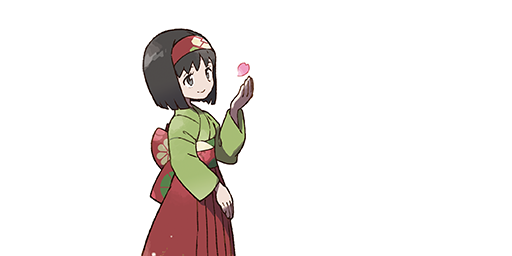 Érika la Championne d'Arène Pokémon Let's Go Pikachu et Évoli