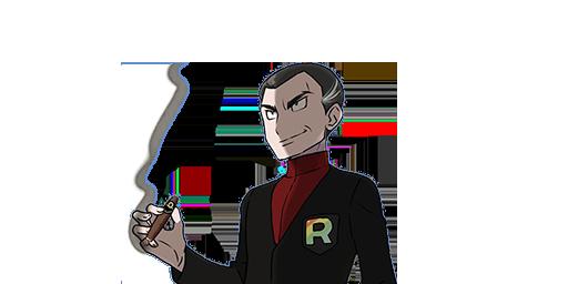 Giovanni le Champion d'Arène Pokémon Let's Go Pikachu et Évoli