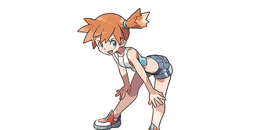 Ondine la Championne d'Arène Pokémon Let's Go Pikachu et Évoli