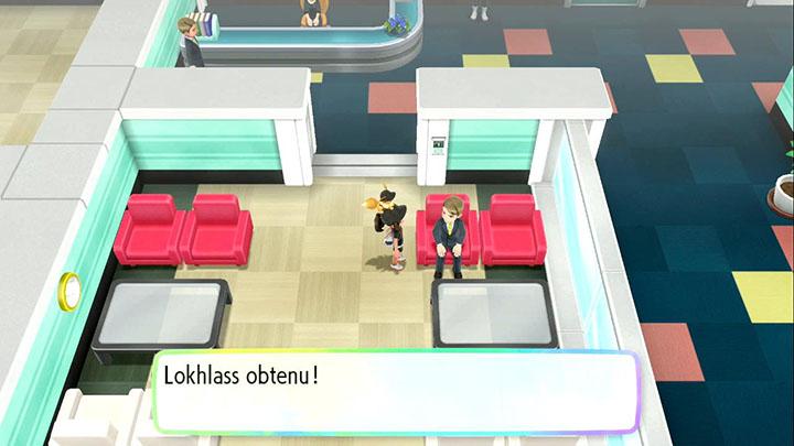 Lokhlass - Pokémon offert dans la Sylphe SARL à Safrania - Pokémon Let's Go Pikachu et Pokémon Let's Go Évoli