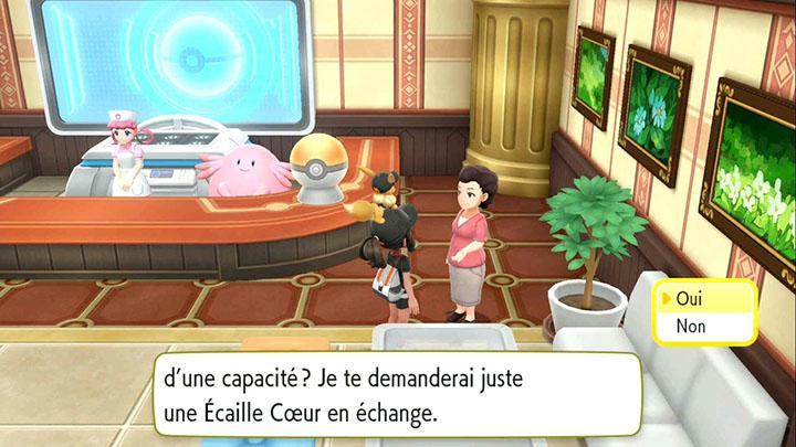 Amnésia Maitre des Capacités au Plateau Indigo - Pokémon Let's Go Pikachu et Évoli