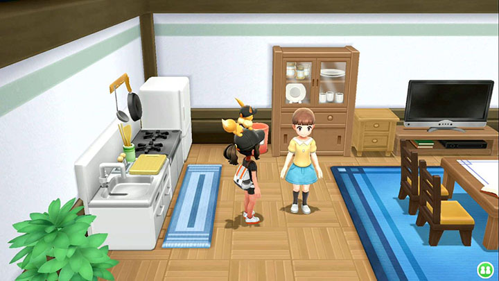 Juge du Bonheur Pokémon Let's Go Pikachu et Évoli