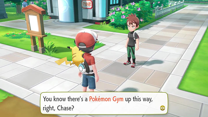 Le rival sur Pokémon Let's Go Pikachu et Évoli