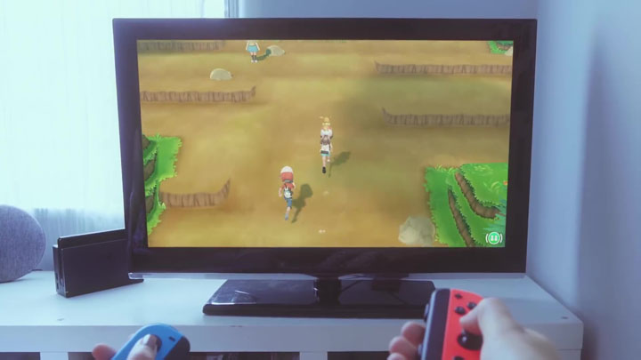 Screenshots Pokémon Let's Go Pikachu et Pokémon Let's Go Évoli