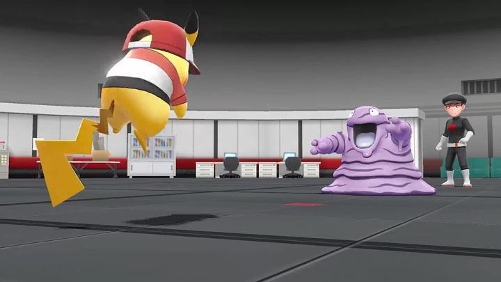 Team Rocket Pokémon Let's Go Pikachu et Pokémon Let's Go Évoli