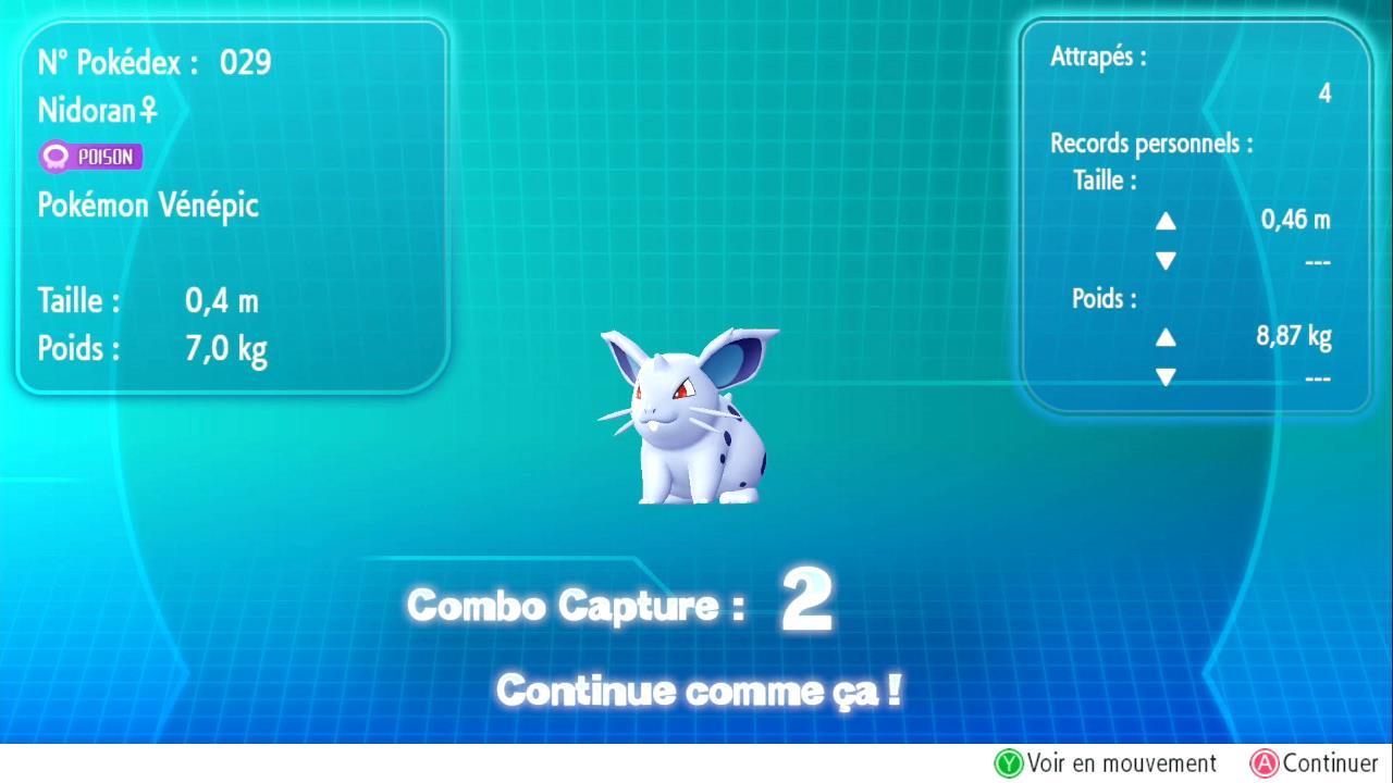 Shiny et nouvelle méthode Pokémon Let's Go Pikachu et Évoli