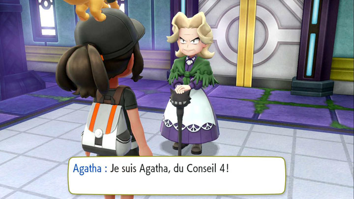 Partie 10 : la Ligue Pokémon - Solution de Pokémon Let's Go Pikachu et Let's Go Évoli