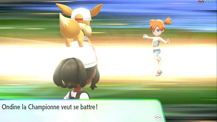 Arène d'Azuria Pokémon Let's Go Pikachu et Évoli