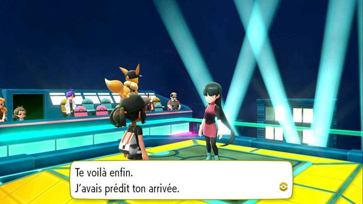 Arène de Safrania Pokémon Let's Go Pikachu et Let's Go Évoli